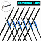 2020 New Express Carbon Crossbow Bolts Screw In Tip Archery Arrows Target Train