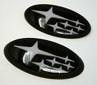 Front & Rear Glossy Badge Emblem For 2011-Up WRX (many colors avaliable)