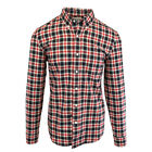 Timberland Men's Long Sleeve Slim Fit Button Down Flannel Shirt A1Y8V