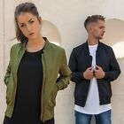 Custom Your Text Personalised BY044 Women's nylon bomber jacket outerwear