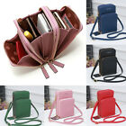 Women Cell Phone Wallet Pocket Purse Shoulder Bags Pouch Case Handbag Crossbody image