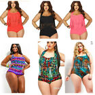 Women Plus Size S~3XL Two Piece suit Paded Bra Tassel High Waist Swimwear Bikini