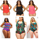 Women Plus Size S 3XL Two Piece suit Paded Bra Tassel High Waist Swimwear Bikini