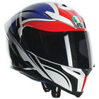 AGV K5 Roadracer Full Face Motorcycle Motorbike Helmet - White / Red / Blue