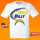 Los Angeles Chargers White NFL Football T-Shirt NFL Team Apparel Tee Jersey NEW $16.95 USD on eBay