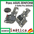 Plate Load ASUS Zenfone 4 Selfie Pro Antenna Microphone Connector USB Headset
