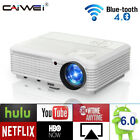 LED HD WIFI Android Projector Blue-tooth Backyard 1080P Netflix Video Game Movie