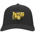 Cap Indiana Pacers Iconic Hometown Graphic Hats Black Navy Colorblock Beanie on eBay