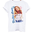 Vintage Britney Spears-Baby One More Time Cotton White Men Tee Shirt S150 image