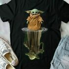 Star Wars Cute Baby Yoda And The Old Jedi Master Yoda Ladies Shirt Mothers Day $18.0 USD on eBay
