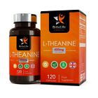 L-Theanine 400mg 120/360 Vegan Capsules | Supports Sleep, Relaxation & Focus