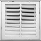 Steel Return Air Filter Grille Removable Face Door Hvac Vent Duct Wall Register