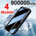 Universal 900,000mAh Power Bank Premium Portable External Battery 2USB Charger