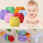 Baby kid Newborn Reusable Nappies Adjustable Diaper Washable Cloth Diaper