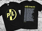 Public Image Ltd Is Rotten Tour 2018 Black T Shirt New Gildan Size S to 2XL image