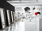 3D Girl Hairstyle B576 Business Wallpaper Wall Mural Self-adhesive Commerce Amy