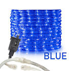 "Assorted Size 3/8"" Blue LED Rope Lighting Flexible Indoor Outdoor Christmas Xmas"