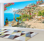 Mediterranean Scenery Garden Balcony Wallpaper Sofa TV Background Wall Sticker for sale  Shipping to Nigeria