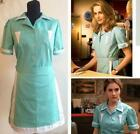 Twin Peaks cosplay costume adult maid wear custom waitress dress