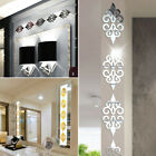 10pcs Acrylic Wall Stickers Mirror Diy Home Wall Living Room Decoration Decal ~