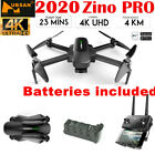 Hubsan Zino PRO APP FPV Quadcopter 5G 4K Drone ---12MP 3Axis Gimbal+2Battery+Bag