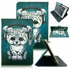 "Universal 10"" 10.1"" Tablet PC Painted Leather Stand Case Folio Cover For Lenovo"