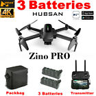Hubsan Zino PRO 4.5KM 5G Wifi FPV APP DRONE--12MP 4K Camera 3Gimbal+Battery+Bag