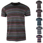 Men's Short Sleeve T-Shirt Fashion Crew Neck With Band Tee image