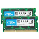 Crucial 8GB 16GB PC3L 10600S 12800S 14900S 1.35V 204pin SODIMM Laptop Memory Ram