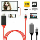 For Samsung S10 S9 S8 Plus Note 10 9 8 MHL Type C To HDMI 4K AV TV Cable Adapter