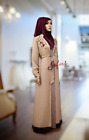 Embroidered Jacket Abaya with Inner