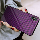 Hülle iPhone 11 X 8 7 Handy Schutzcase 3D Carbon Optik Cover Panzerfolie 9H Glas
