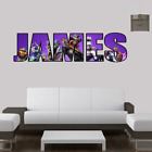 Fortnite Personalised Prints Children's Bedroom Wall Art Stickers