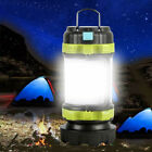 Rechargeable LED Camping Lantern Outdoor Tent Lights & Power Bank Phone Charger