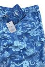 Peter Millar Seaside Dead In The Water Blue Skull Swim Trunks $98