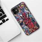 For All iPhone Case Slim Super Hero DeadPool Thanos Joker Silicone Marvel Cover