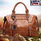 Women Large Leather Handbag Tote Purse Messenger CrossBody Shoulder Bag Satchel  image