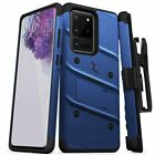 Samsung S20/S20+PLUS/S20 Ultra ZIZO BOLT Case with rotatable holster | KickStand