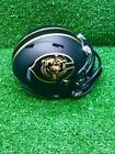 Chicago Bears Riddell Speed CUSTOM Concept Matte Black Mini Football Helmet $45.0 USD on eBay