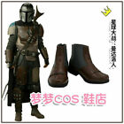 Star Wars The Mandalorian Boots Cosplay Costume Shoes Halloween@FG $51.0 USD on eBay