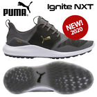 Puma Ignite NXT Men's Golf Shoes Quiet Shade/Gold/Black - NEW! 2020