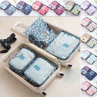 6PCS+Waterproof+Travel+Storage+Bags+Clothes+Packing+Cube+Luggage+New%21