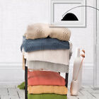 Battilo 100% Acrylic Knit Throw Classic Knitted Throw Blankets for Couch Chair  image