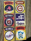 1968-72 Fleer Cloth Stickers Patches Baseball LOGO insert - choose from list on Ebay