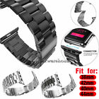 Stainless Steel Wrist iWatch Band Strap 38~44mm For Apple Watch Series 5/4/3/2/1 image