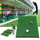 Indoor Golf Putting Training Aid Mat Pad Gym Exercise Driving Range Balls New