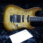 Used Tom Anderson Drop Top Light Tiger Eye Burst With Binding *Rol552 for sale