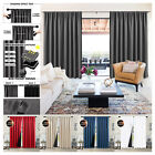 Kyпить 2 Panels 100% Thermal Insulated Blackout Curtains Rod Pocket for Bedroom Decor на еВаy.соm