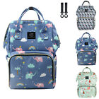 Mummy Diaper Bag Maternity Backpack Shoulder Bag Large Capacity Changing Backpac