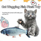 Play Catch Plush Toys Cat Toy Catnip Mint Stuffed Fish Simulation Fish Toys